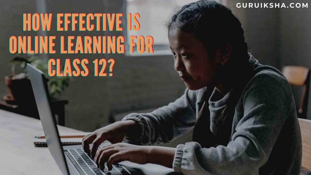 How Effective Is Online Tuition For Class 12?