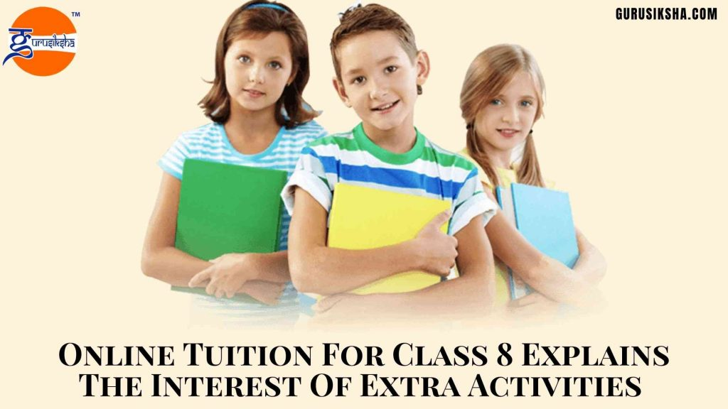 Online Tuition For Class 8