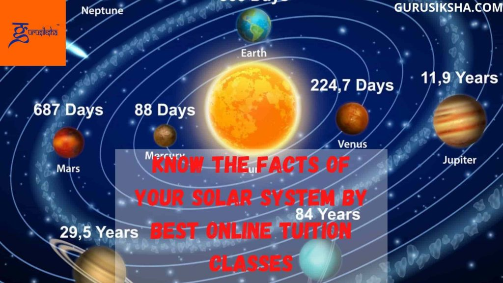 Know The Facts Of Your Solar System By Best Online Tuition Classes